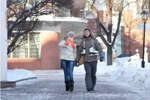 Зимнее love story фото фотограф Алия Валеева