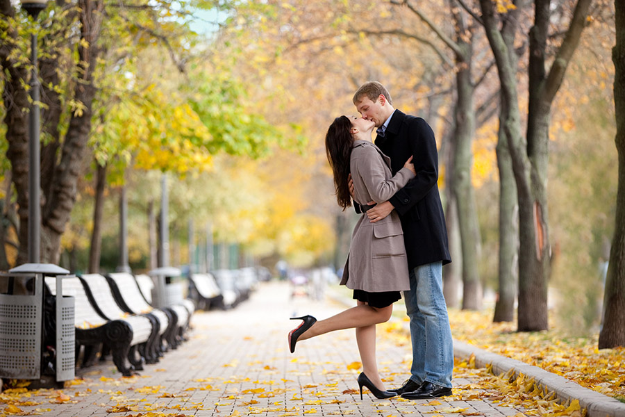 осеннее love story фотограф Алия Валеева