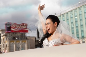 Прикольная свадьба