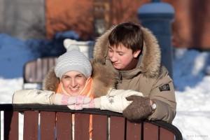 фото зимнее Love story фотограф Алия Валеева