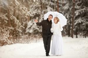 Зимняя свадьба фотограф Алия Валеева Москва
