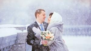 алия Валеева свадьба зимой