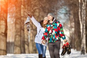Алия Валеева lovestory зимой
