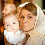 Алия Валеева фото крещение