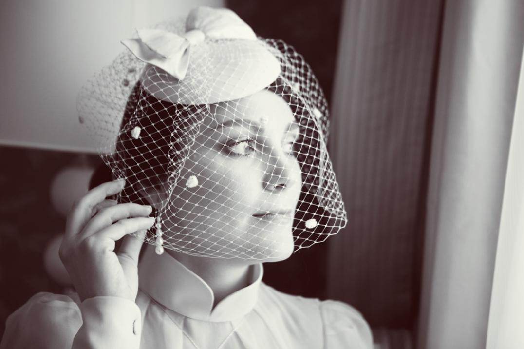 Алия Валеева свадьба в стиле ретро