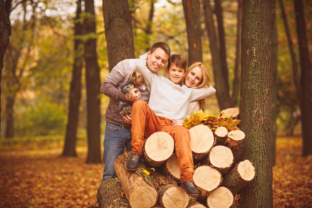 Осенняя фотосессия ,осенняя семейная фотосессия , фотосессия осенью